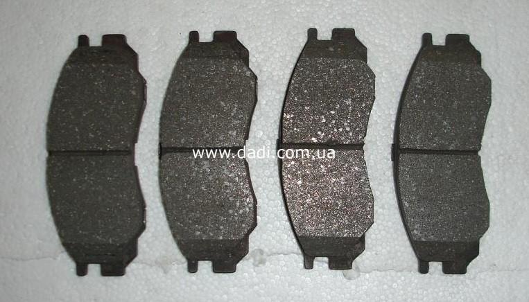 Колодки гальмівні передні (SUV, Pick-Up 4WD)/ колодки тормозные передние-0