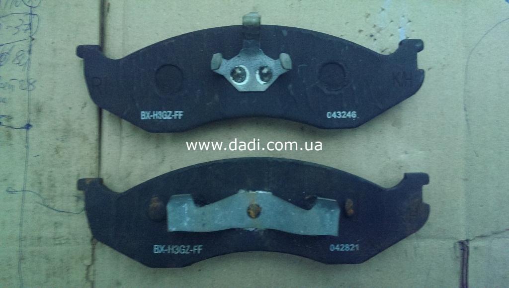 Колодки гальмівні передні комплект Rocky/ колодки тормозные передние-0