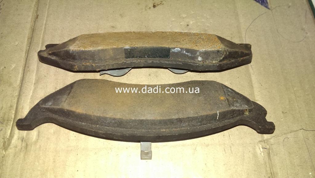 Колодки гальмівні передні комплект Rocky/ колодки тормозные передние-270