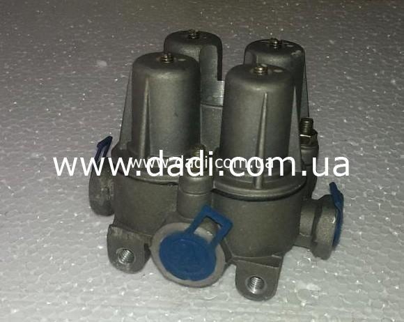 Кран гальмівний 4 контурний BAW BJ1044/ кран тормозной-0