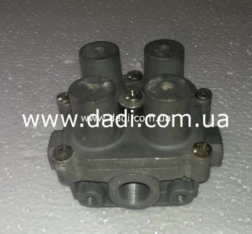 Кран гальмівний 4 контурний BAW BJ1065/ кран тормозной-0