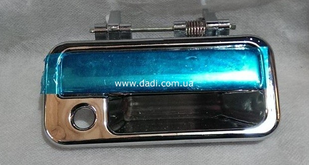 Ручка зовнішня задніх правих дверей (хромована) Pick-Up, DADI City Leading, GROZ Target/ ручка наружная задней двери, пр-0