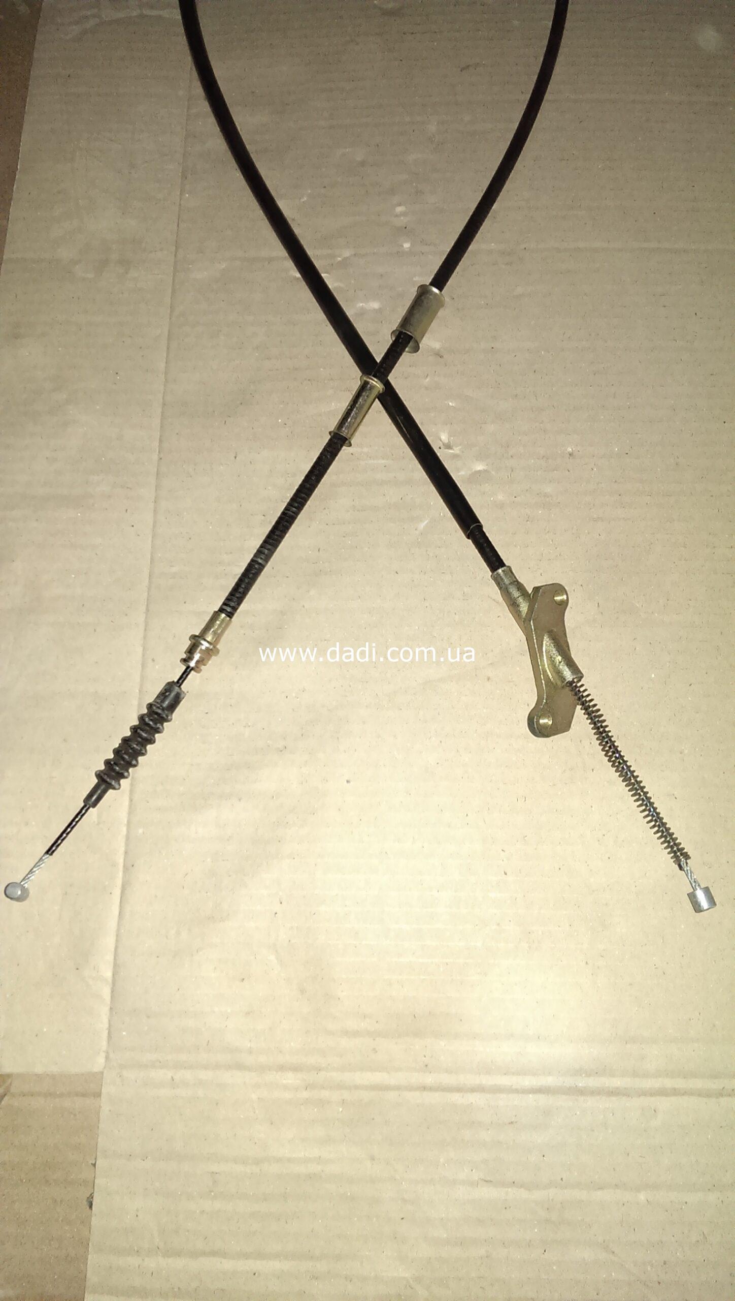 Троси ручних гальм Pick-Up 2WD к-кт/ тросы ручника-0