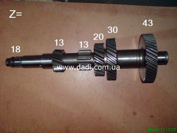 Вал КПП проміжний 4WD DADI, Land Mark , GW / вал КПП промежуточный 4WD-0