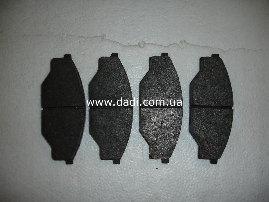 Колодки гальмівні передні 2WD, KZ6490)/ колодки тормозные передние-0