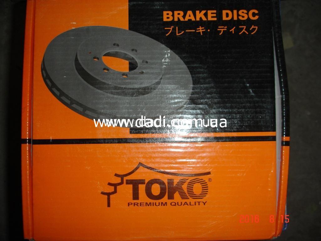 Диск гальмівний передній 4WD/ диск тормозной передний-0