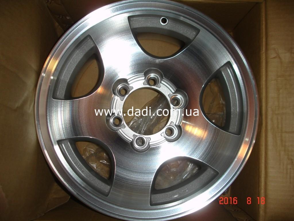 Диск колісний/диск колесный ALUM R16/6-0