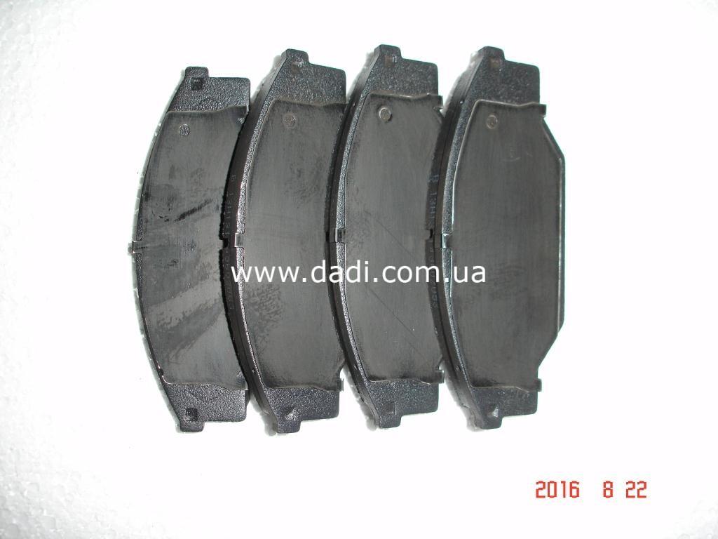 Колодки гальмівні передні 2WD, KZ6490)/ колодки тормозные передние-950