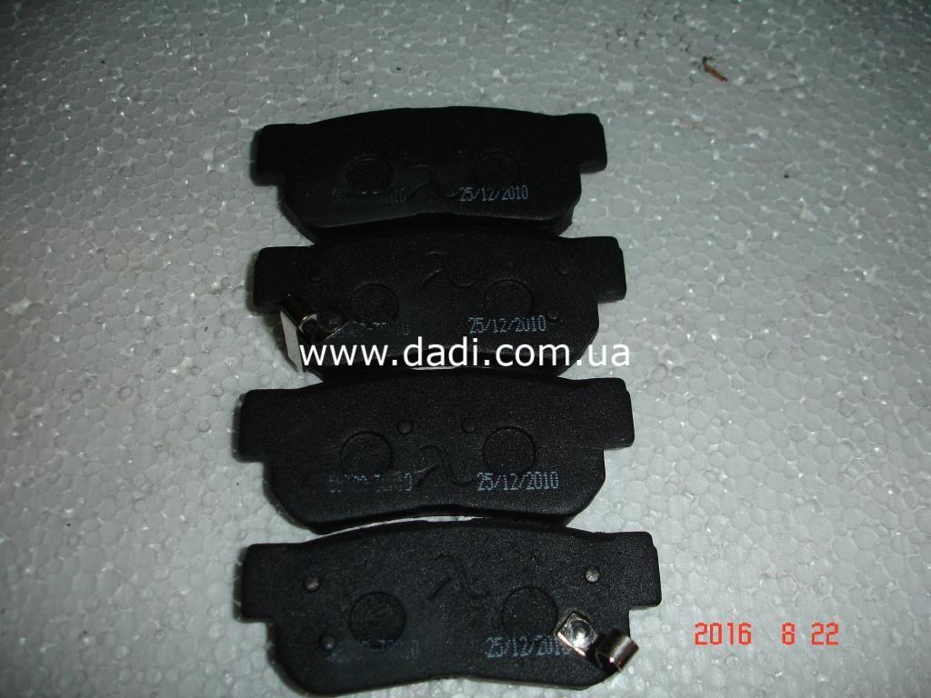 Колодки гальмівні задні дискові Santa-Fe / колодки тормозные задние дисковые-948