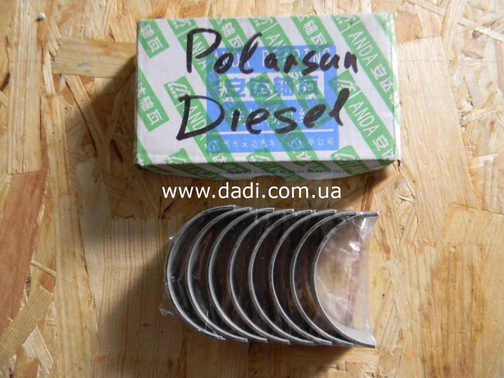 Вкладиші шатуна/ вкладыши шатуна, к-кт Polarsun diesel-0