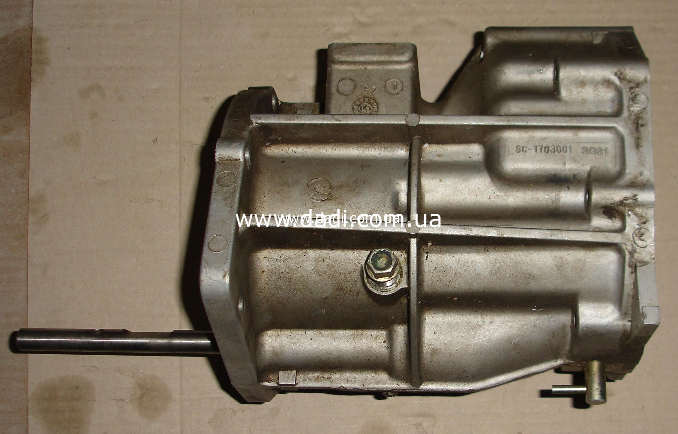 Корпус куліс КПП 4WD/ корпус кулис кпп-0