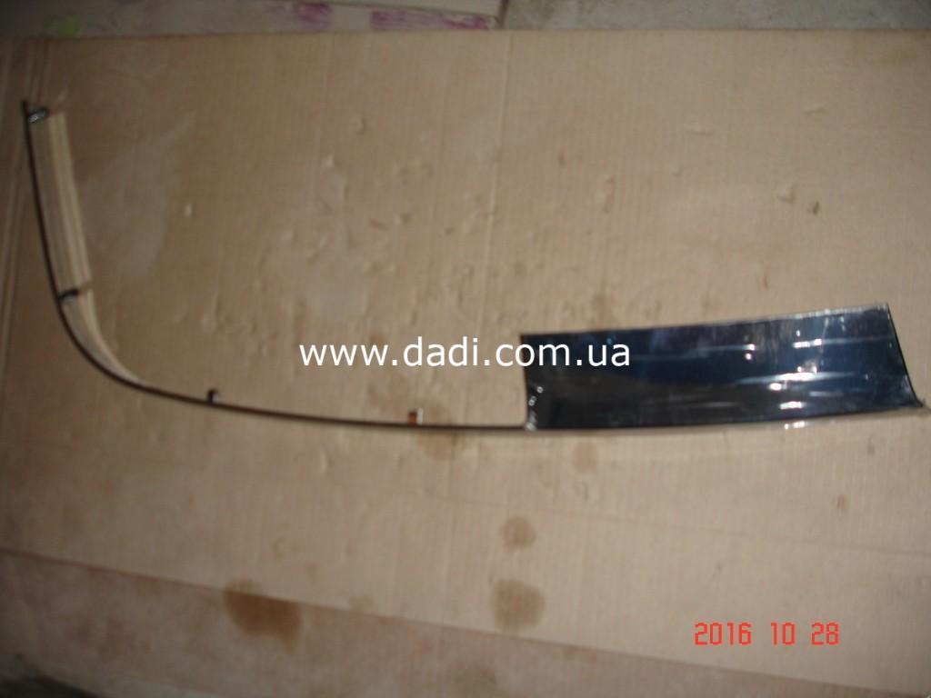 Молдінг переднього бампера лівий(хром) Polarsun/ молдинг переднего бампера-0