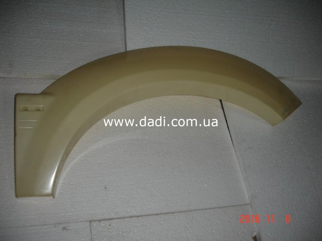 Накладка заднього лівого крила Xinkai 6490/ накладка заднего левого крыла Xinkai-0