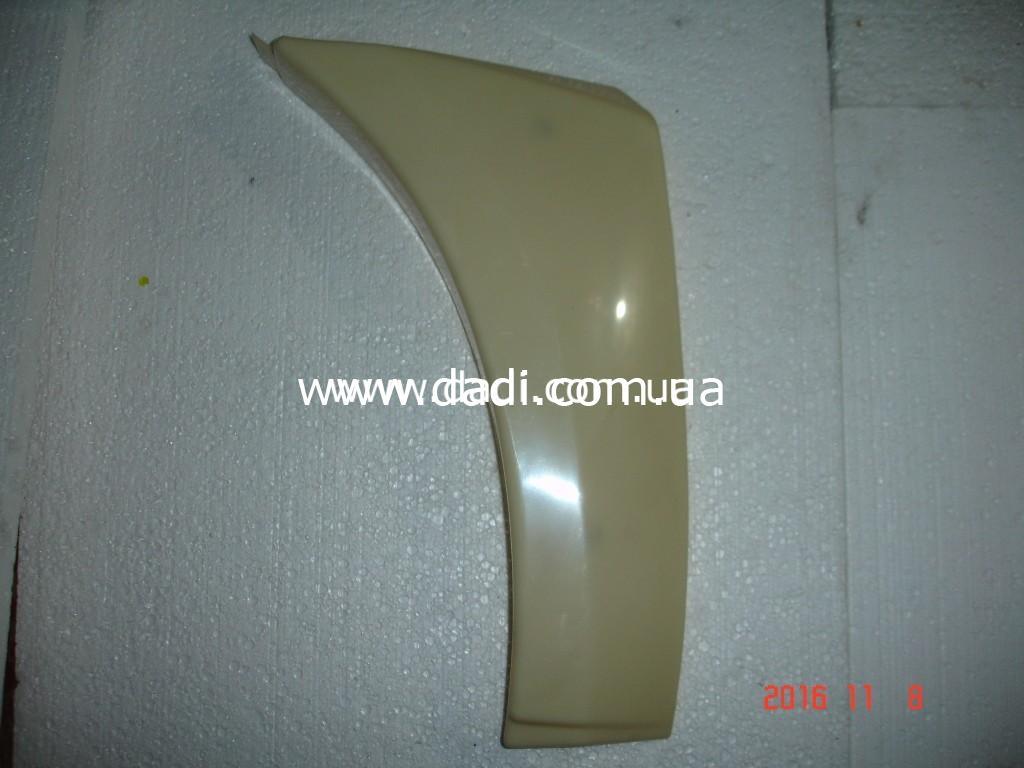 Накладка переднього бамперу, права Xinkai 6490/ накладка переднего бампера, правая-0