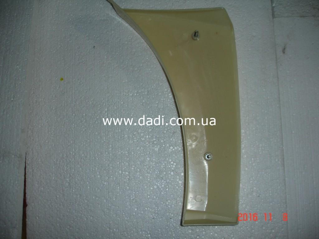 Накладка переднього бамперу, ліва Xinkai 6490/ накладка переднего бампера, левая-1020