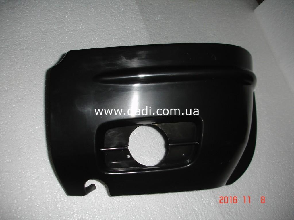 Накладка переднього бамперу, ліва GROZ (BAW) Rocky/ накладка переднего бампера, лев.-1017