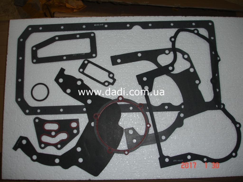Прокладки двигуна 4100QBZ(комплект)/ прокладки двигателя, к-кт. BAW BJ1044-1372