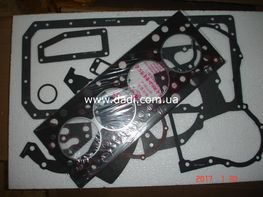 Прокладки двигуна 4100QBZ(комплект)/ прокладки двигателя, к-кт. BAW BJ1044-1373