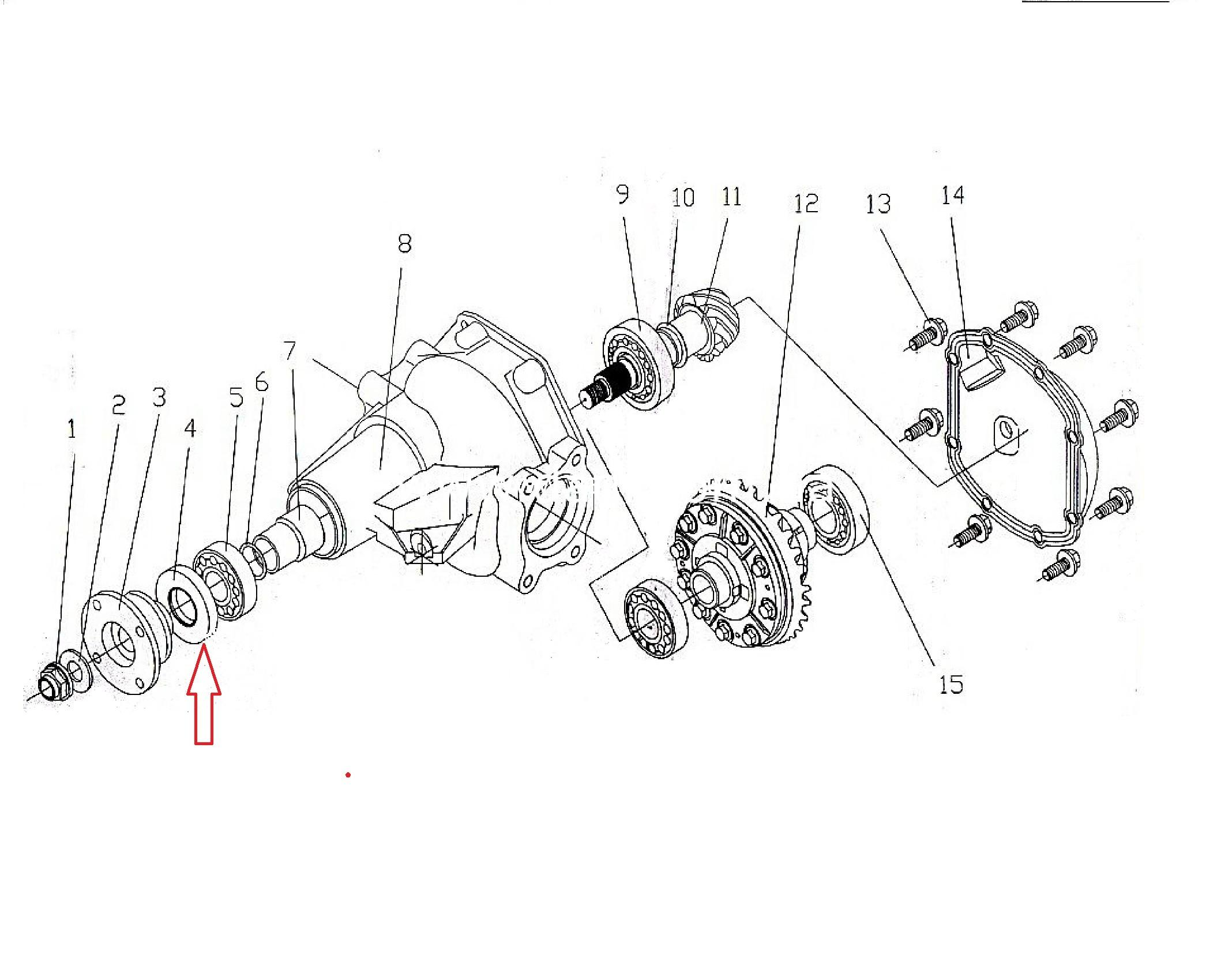 Сальник хвостовика редуктора переднього-заднього мосту (SUV, Pick-Up 4WD)/ сальник хвостовика редуктора-0