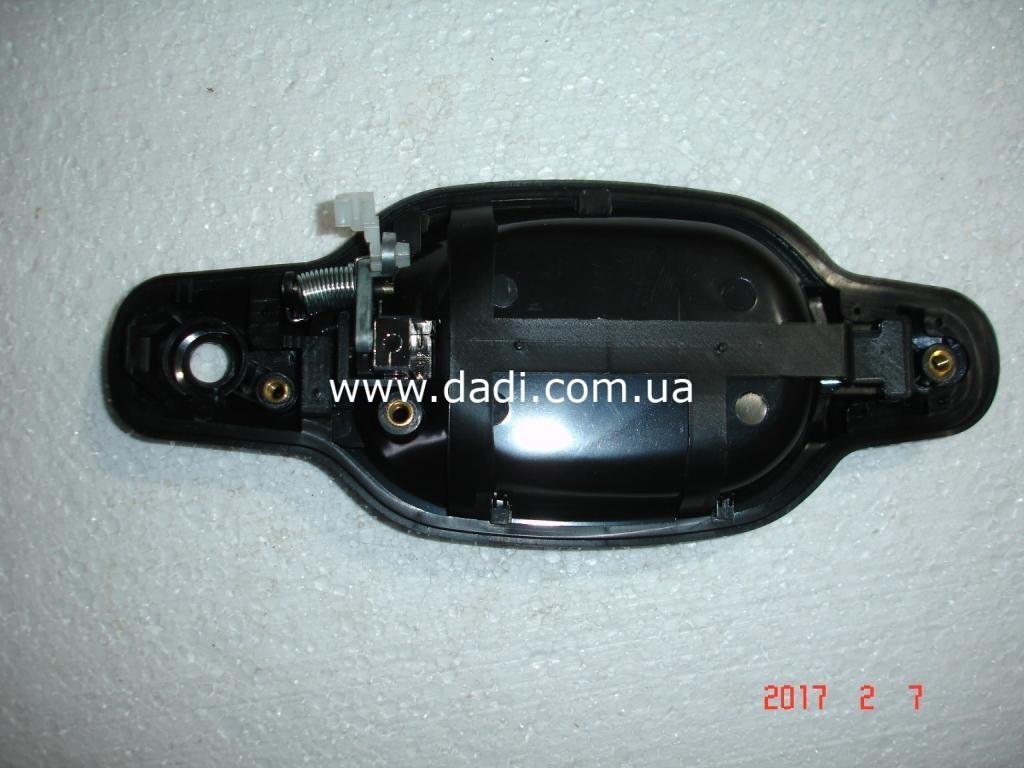 Ручка зовнішня передніх лівих дверей (хромована)GROZ FOX, GROZ Shuttle/ ручка наружная передних левых дверей-1441