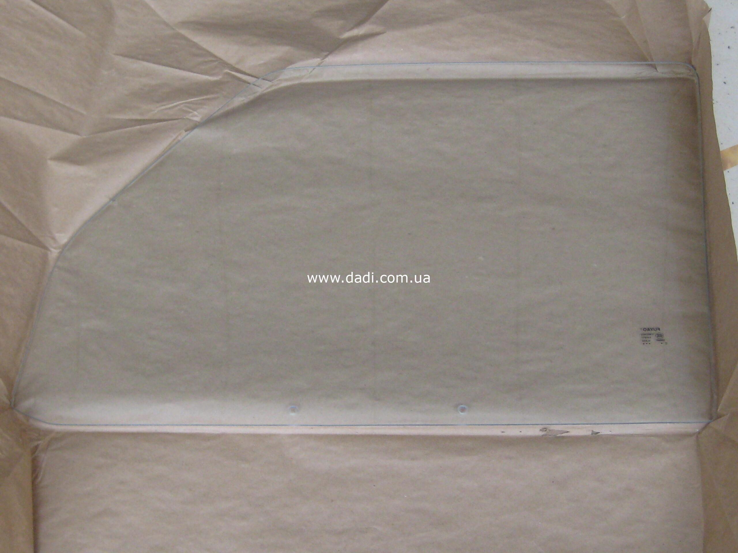 Скло передніх лівих дверей Wuling 6376/ стекло передней левой двери-0