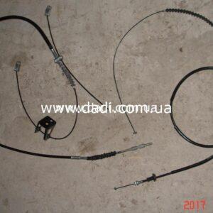Троси ручних гальм Polarsun (комплект)/ тросы ручника -0