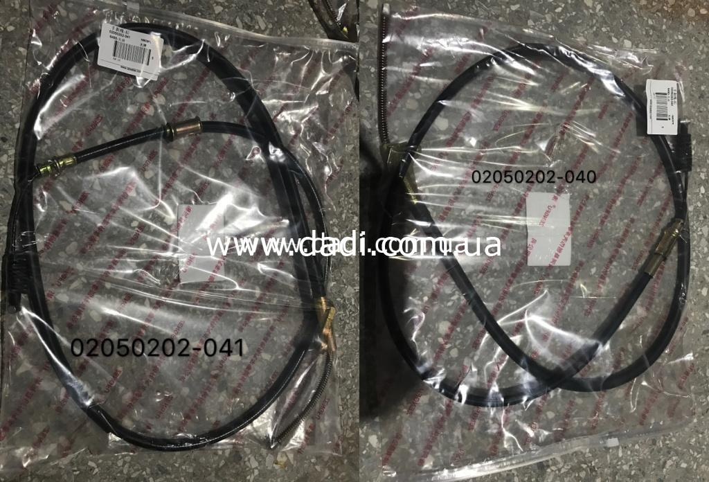 Троси ручних гальм BDD6490; 6492; 1023SY pick-up 4WD/ троси ручного тормоза -0