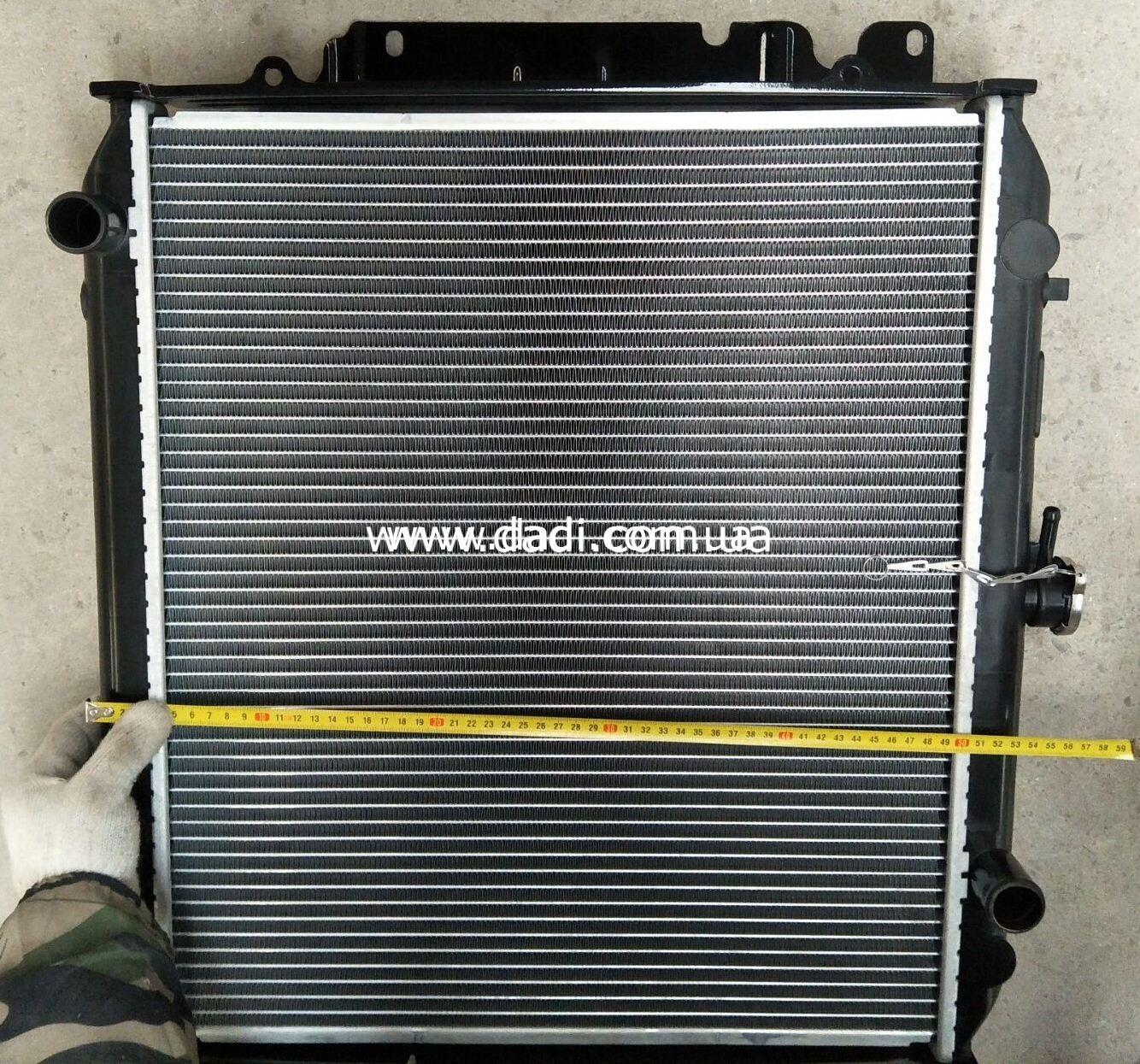 Радіатор охолодження двигуна (491Q)/ радиатор охлаждения-0