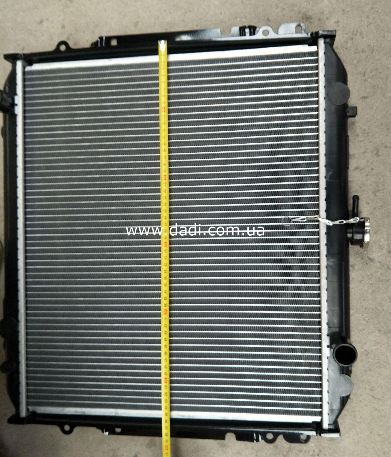 Радіатор охолодження двигуна (491Q)/ радиатор охлаждения-2288